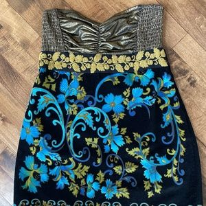 Stunning Free People Strapless Tunic Top